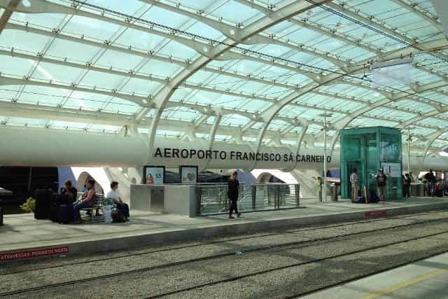 Oporto Consejos de viaje - Estación de metro del Aeropuerto de Oporto