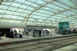 Dicas de viagem - Estação de metro do aeroporto