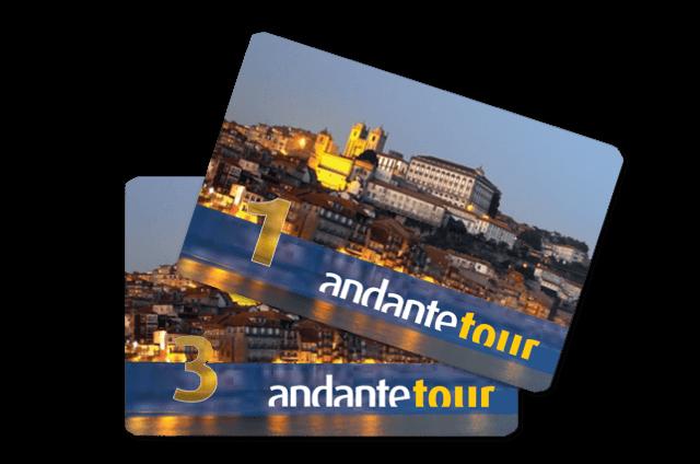 Tarjeta Andante Tour - Metro de Oporto