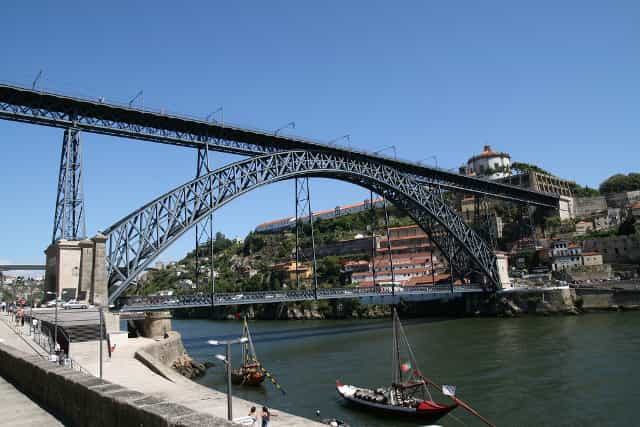 What to see in Porto - Qué ver en Oporto - O que ver no Porto - Things to see in Porto - What to see in Porto - Ponte Dom Luís I - Puente Dom Luis I - Dom Luis I Bridge