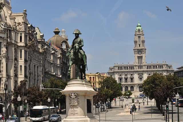 Porto em 3 dias - Oporto en 3 días - Aliados